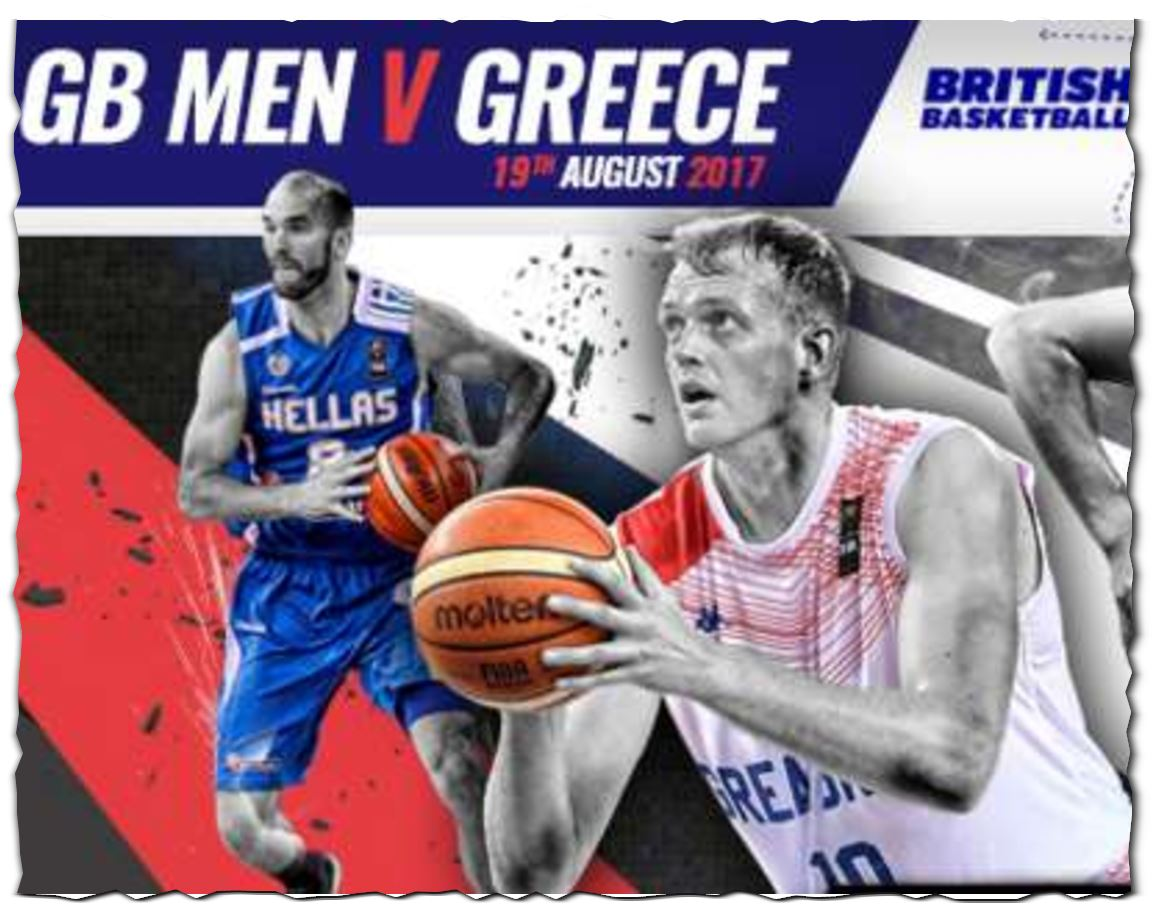 Basketball - Great Britain vs GREECE